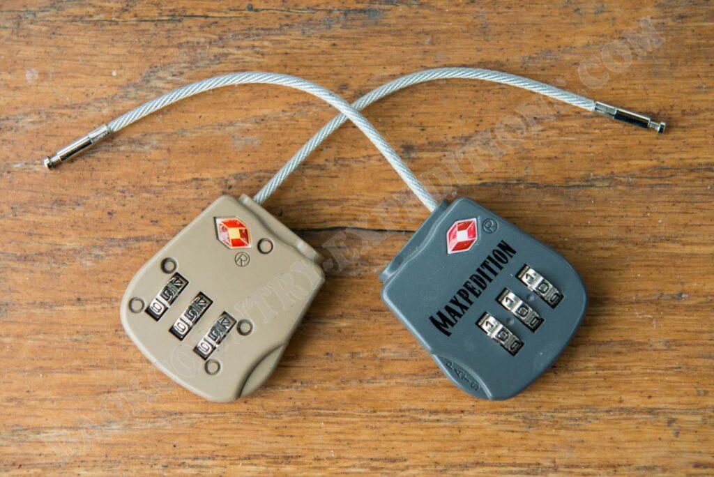 Maxpedition Tactical Luggage Lock Foliage & Khaki