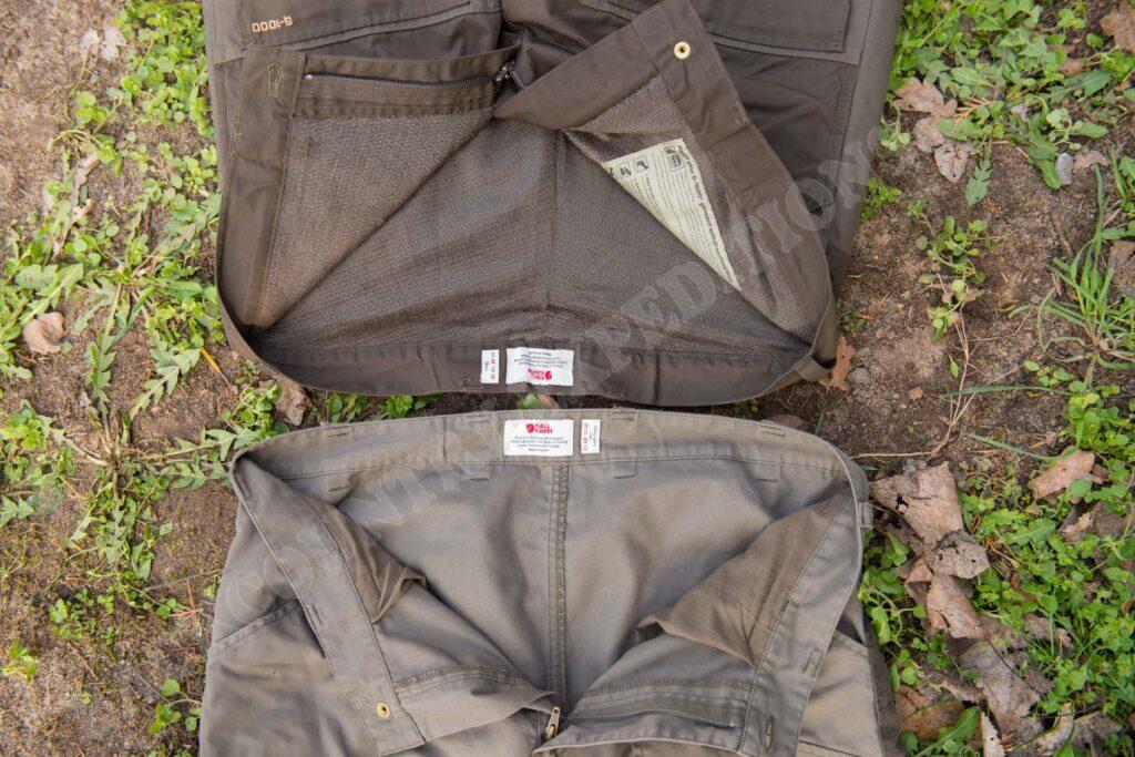 Fjällräven Arktis Trousers & Vidda Pro Trousers