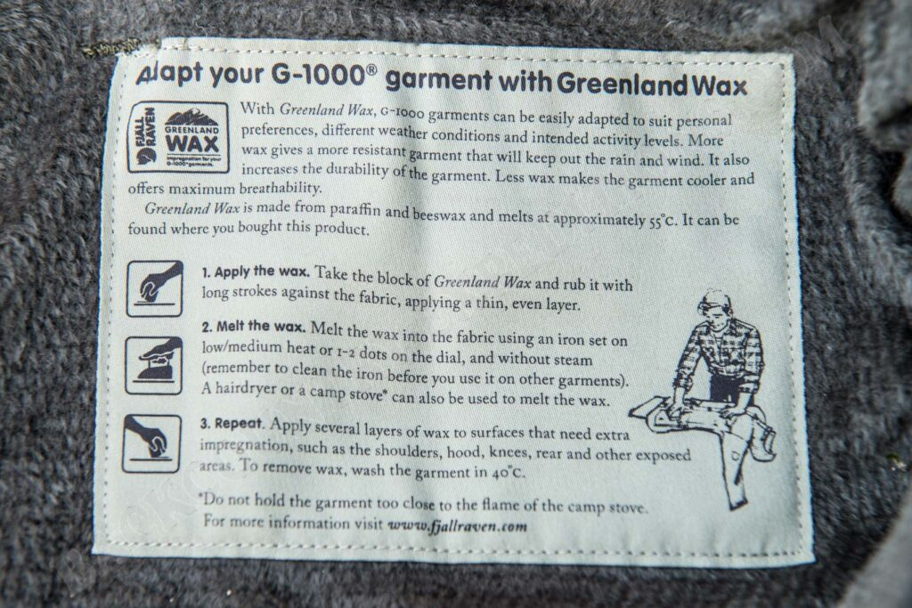 Fjällräven G-1000 Greenland Wax