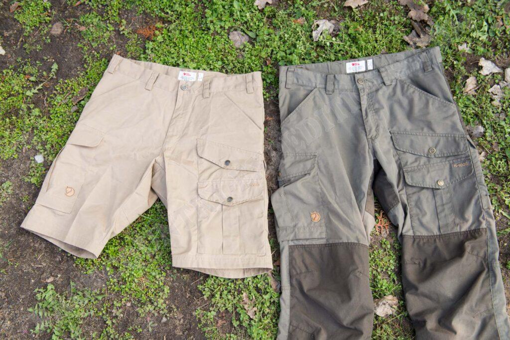 Fjällräven Barents Pro Shorts & Vidda Pro Trousers