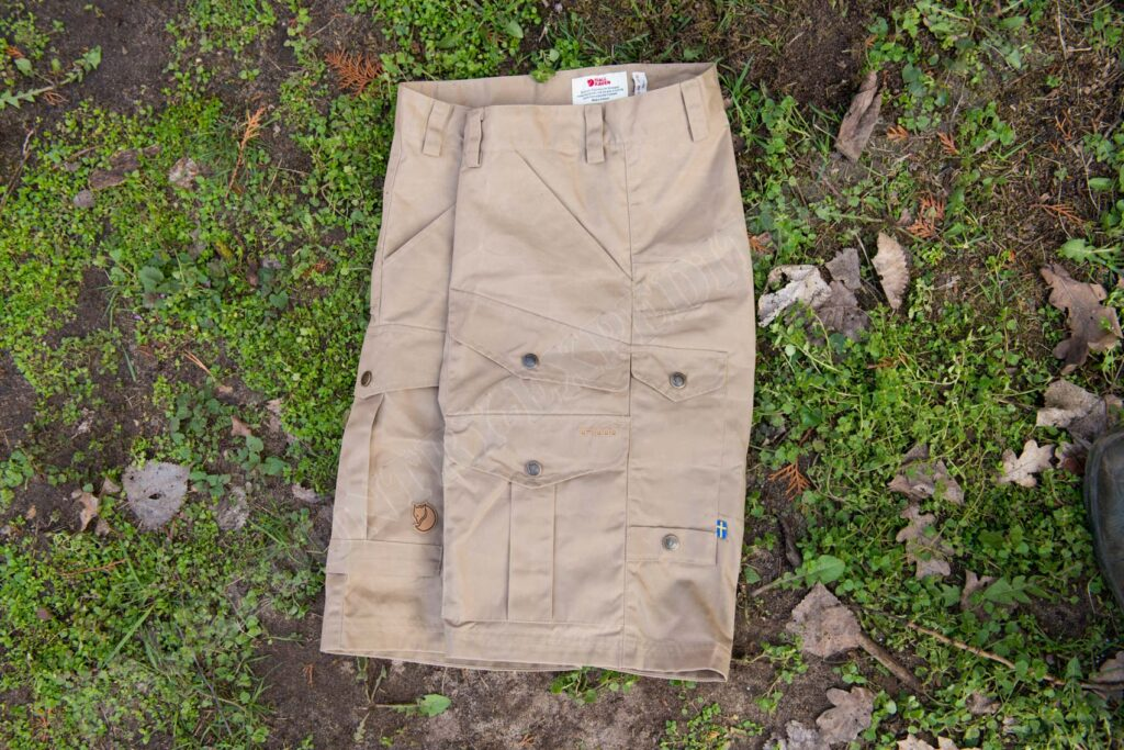 Fjällräven Barents Pro Shorts M Taschen