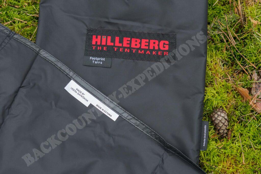 Hilleberg Tarra Fooprint