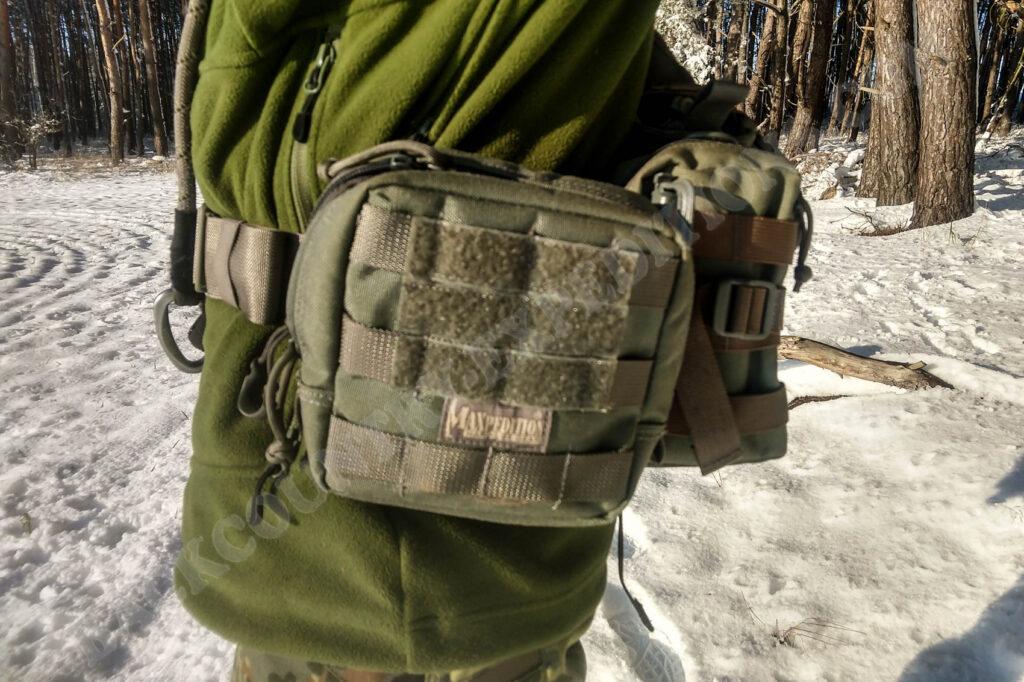 Maxpedition Sabercat im Einsatz