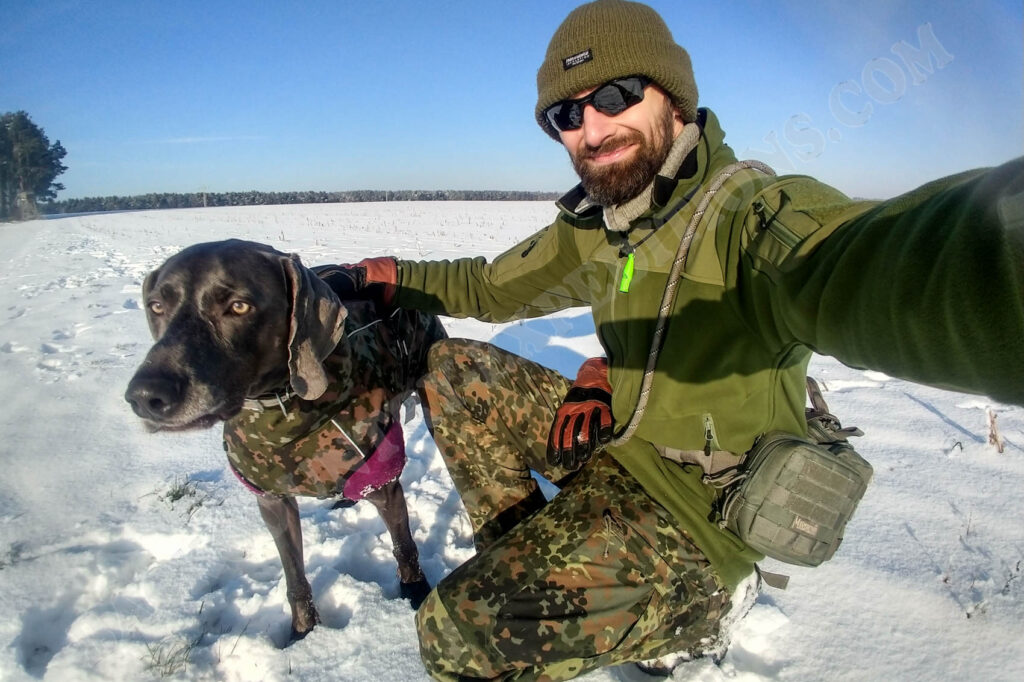 Clawgear Operator Combat Pant im Schnee