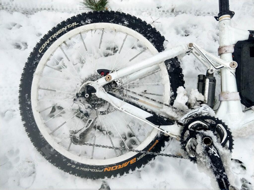 Der Baron 2.4 Projekt auf Schnee