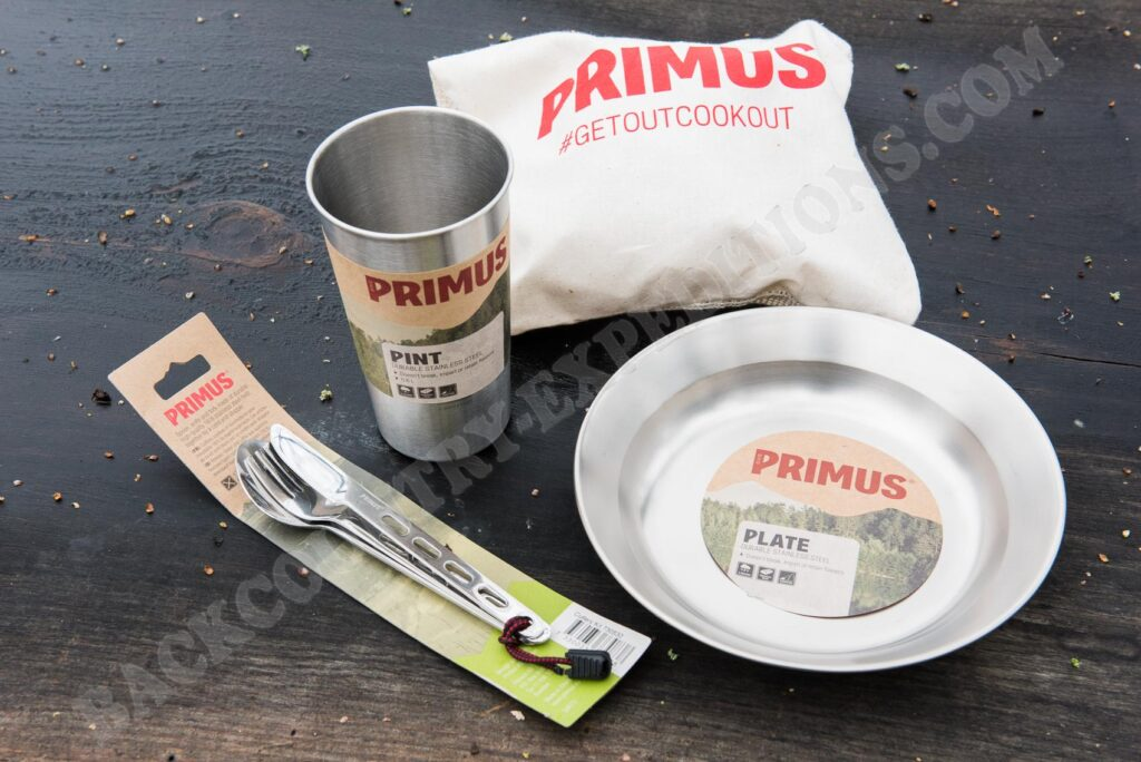 Primus Plate, Campfire Pint, Field Cutlery