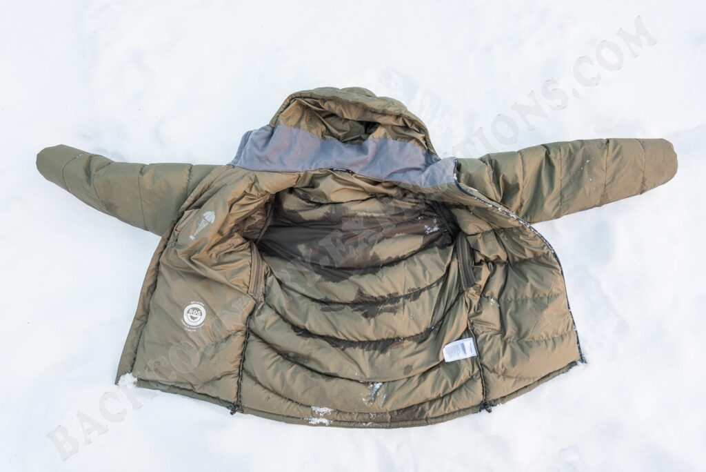 Bergans Sauda Down im Schnee