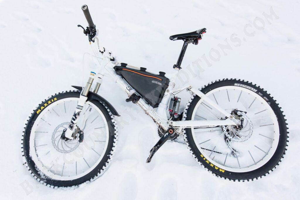 Maxxis Wetscream im Schnee