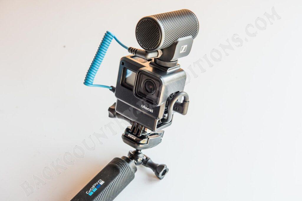 GoPro 7 und externes Mikrofon