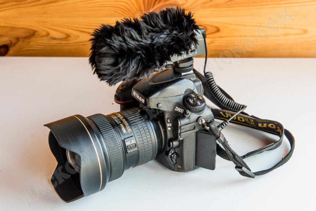 Sennheiser MKE 400 und Nikon D800