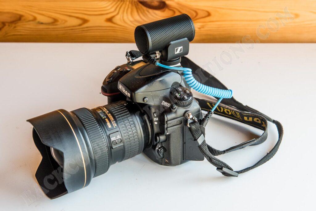 Sennheiser MKE 200 und Nikon D800