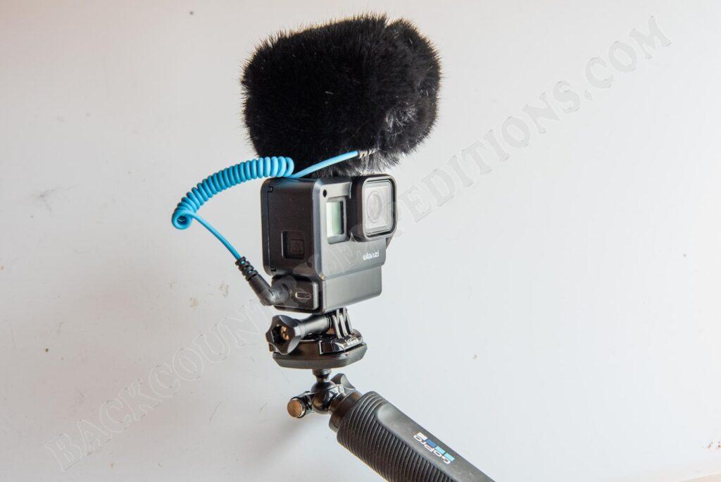 Sennheiser MKE 200 und GoPro
