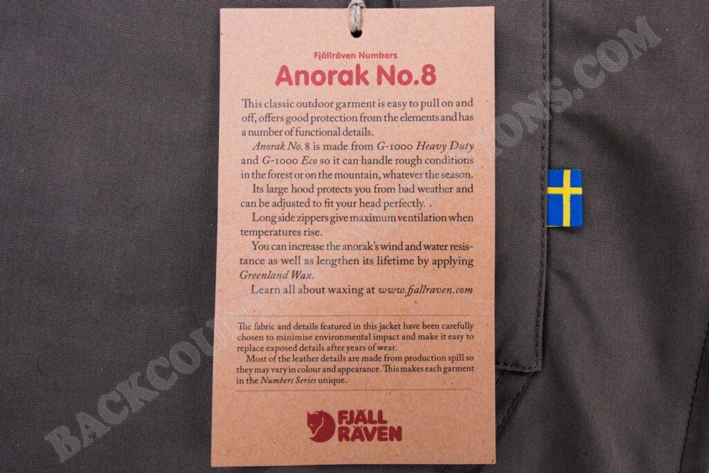 Fjällräven Anorak No. 8