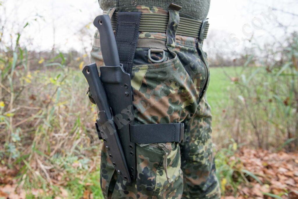 Busse Combat HACK War Dog + Busse Basic 8