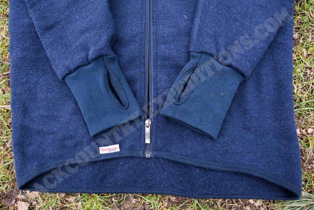 Woolpower Full Zip Jacket 600 Daumenschlaufen