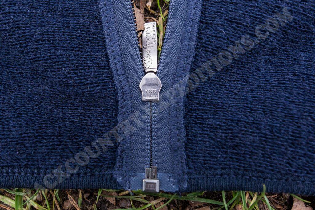 Woolpower Full Zip Jacket 600 Reißverschluss