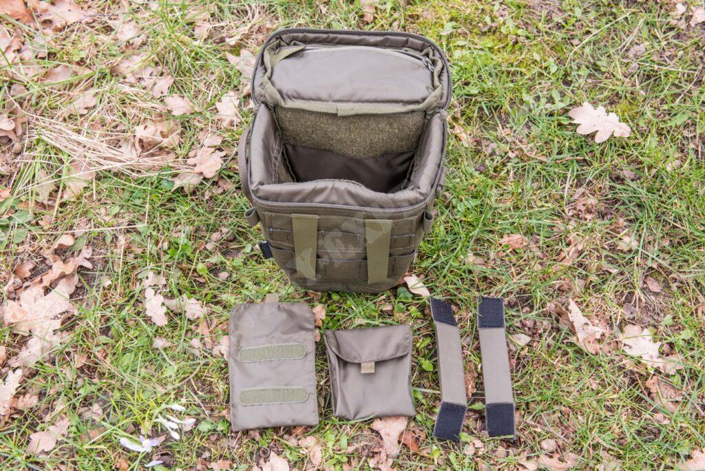 Tasmanian Tiger Focus ML Camera Bag Innentaschen und Einteiler
