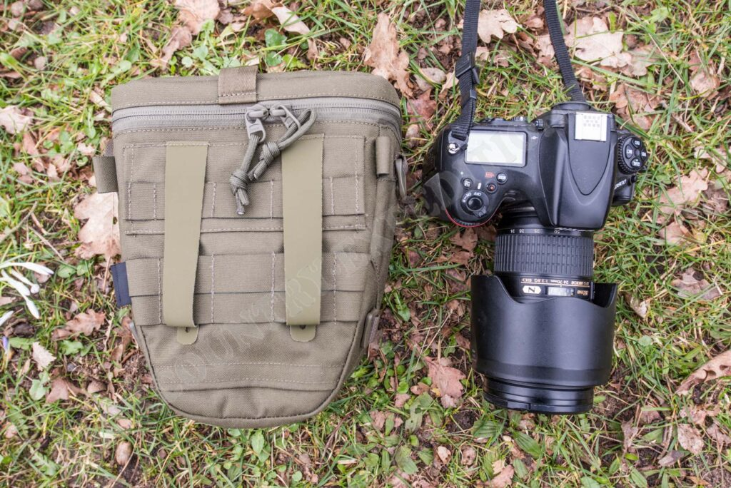 Tasmanian Tiger Focus ML Camera Bag mit Nikon D800 + Nikkor 24-70mm