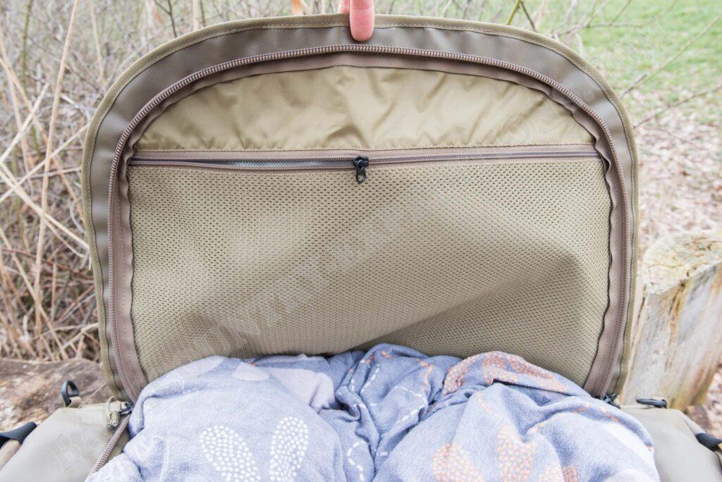 Tasmanian Tiger Barrel Bag Deckelfach