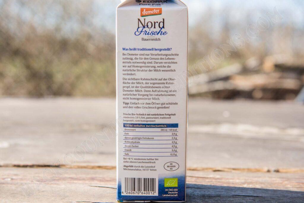 Nord Frische Bauernmilch (Edeka)