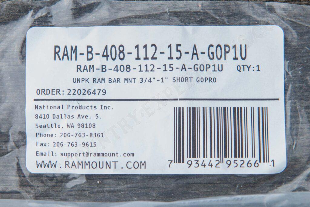 Ram Mount Torque B-408-112-15-A-GOP1U