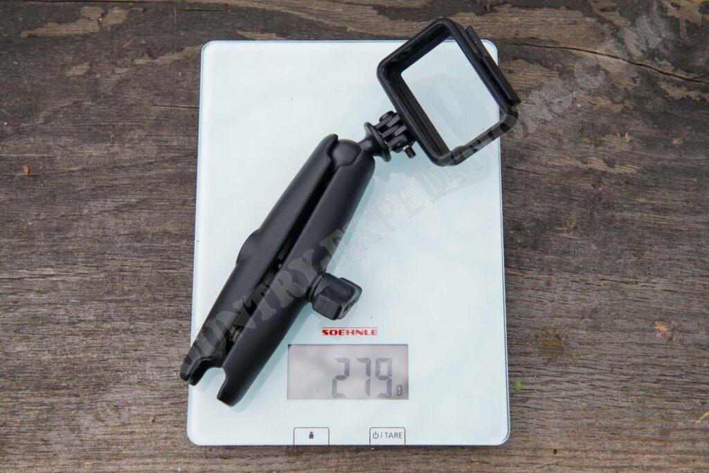 Ram Mount Long Socket Arm + GoPro Frame
