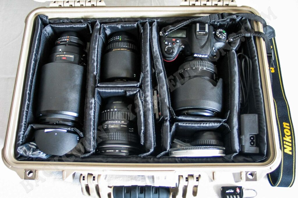 Peli Case 1500 Nikon