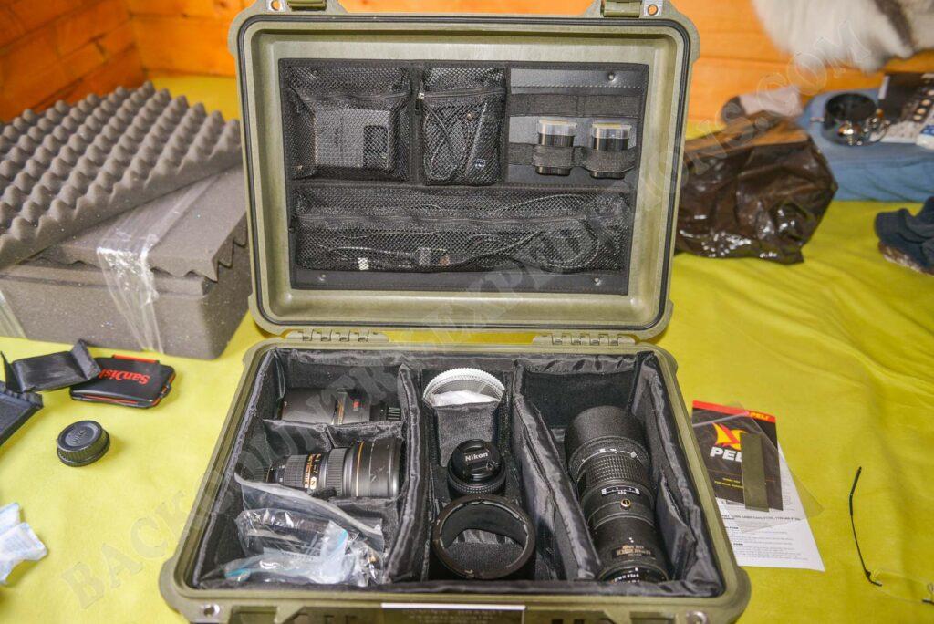Peli Case 1520 + Nikon