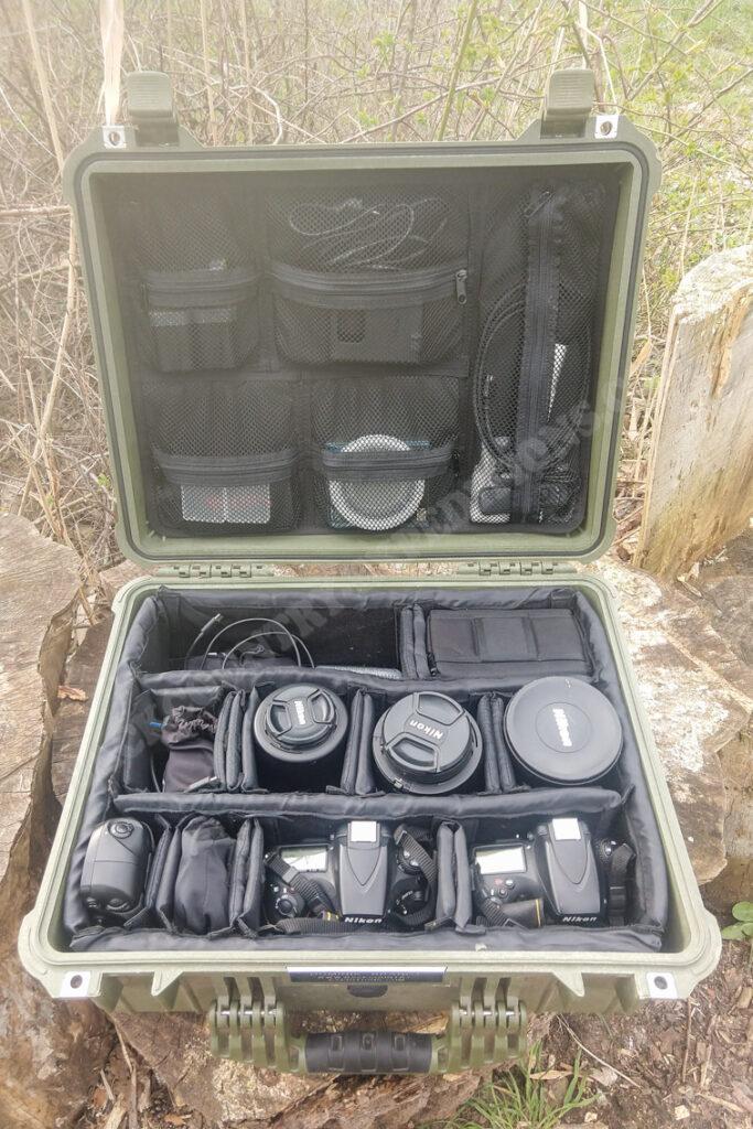 Peli Case 1550 + Nikon