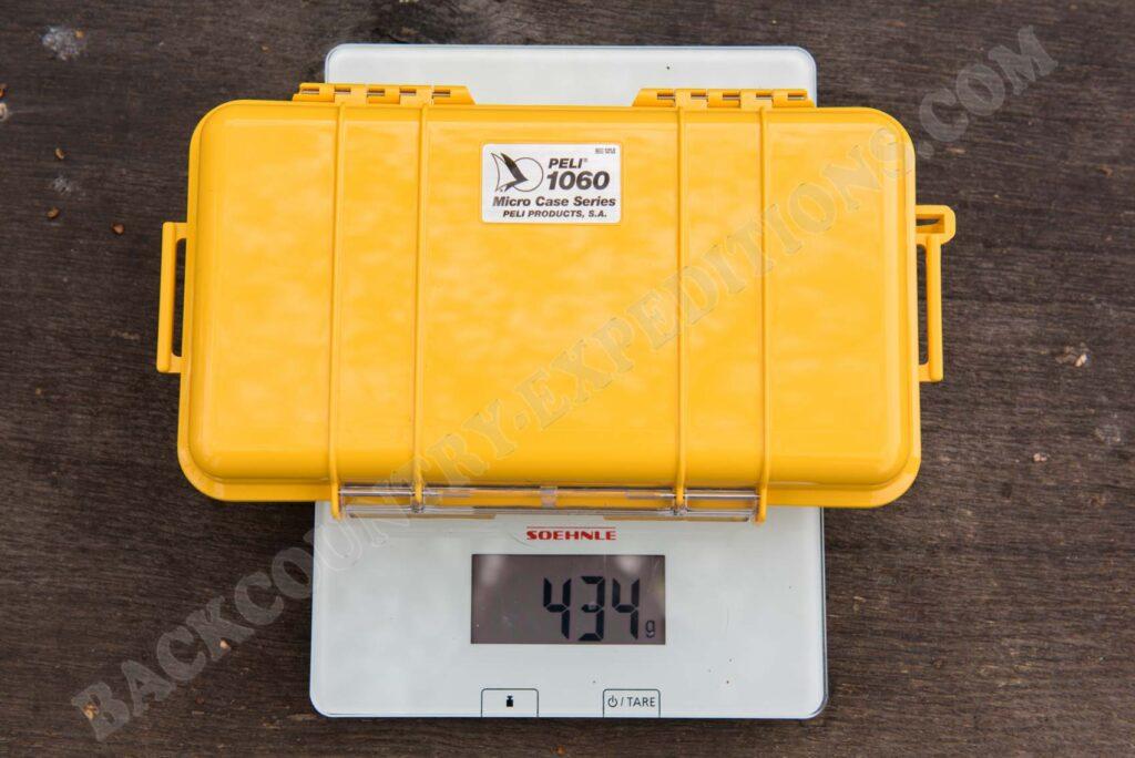 Peli 1060 Micro Case Gewicht
