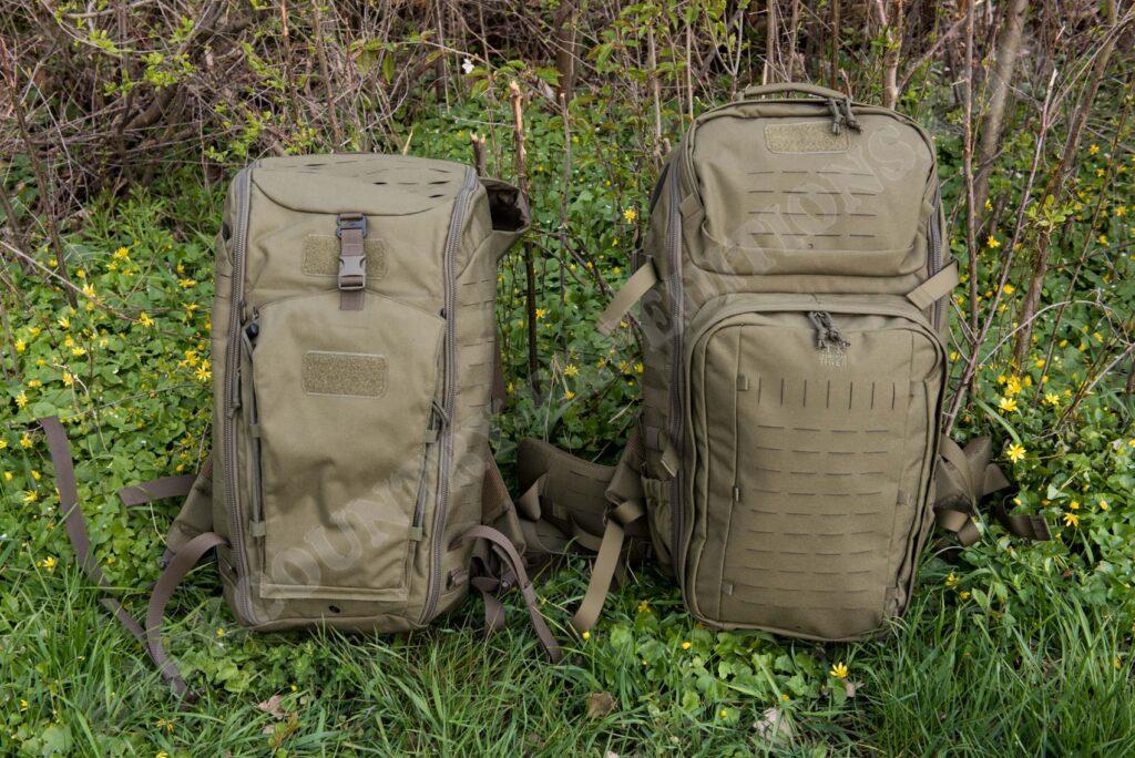 Tasmanian Tiger Modular Pack 45 vs. Modular Trooper Pack