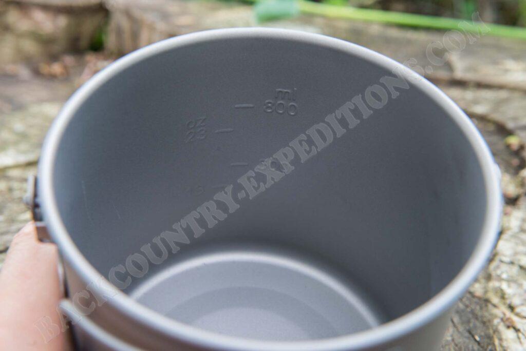 Pathfinder Titanium Bush Pot
