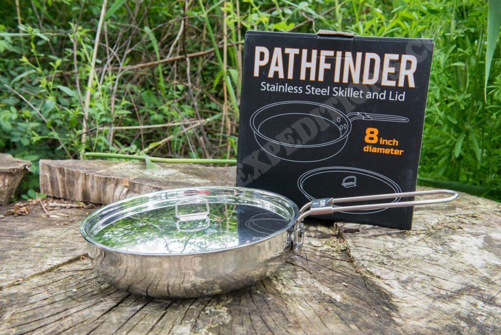Pathfinder Folding Skillet and Lid