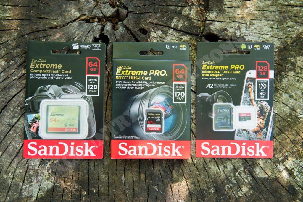 San Disk Memory Cards